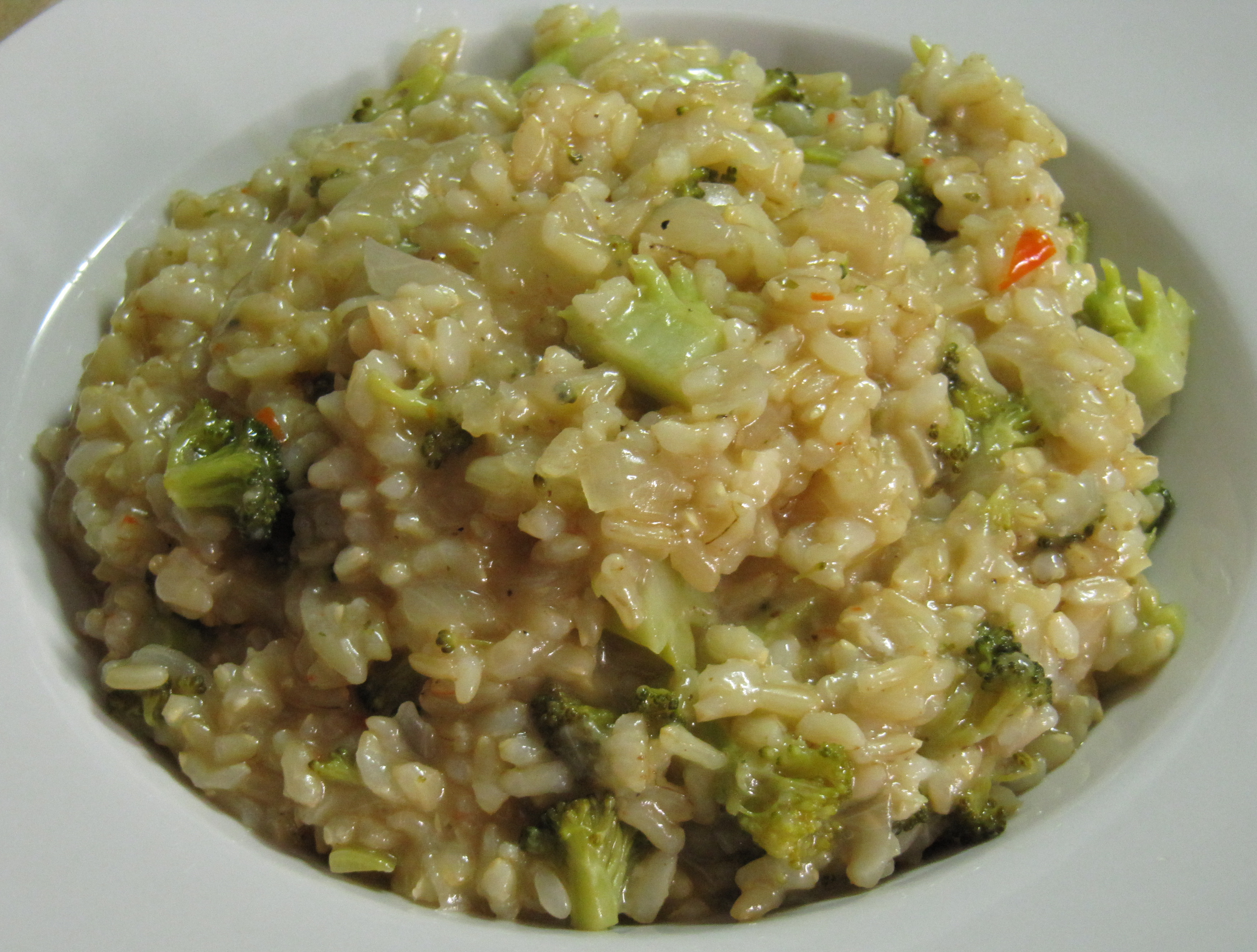 Creamy Broccoli & Lemon Risotto - Eat Better to Live Better